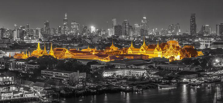 Bangkok, Ancient, Architecture, Thailand, Art, Asia