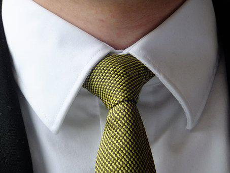 Tie, Green, Festive, Man, Neck