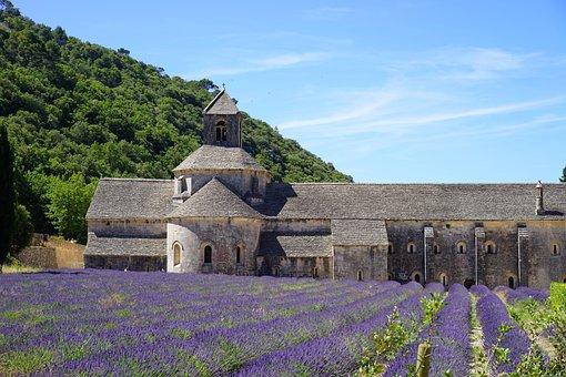 Monastery, Monastery Church, Abbaye De Sénanque, Abbey