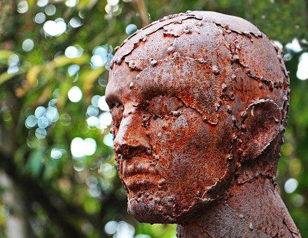 Art, Sculpture, Scrap Sculpture, Human, Replica