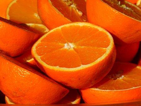 Orange, Fruit, Vitamins, Fruits, Citrus Fruits