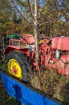 Tractor, Agriculture, Commercial Vehicle, Tractors
