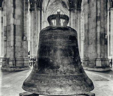 Bell, Church, Columnar, Dom, Cathedral, Ring