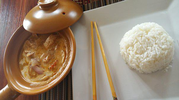 Rice, Dishes, Traditional Dish, Eat, Sauce, Chicken