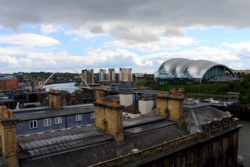 Newcastle, Say Gateshead, England, Building, Concert