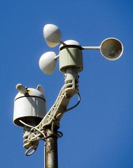 Anemometer, Wind Gauge, Gauge, Wind, Weather, Equipment