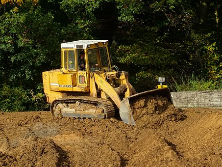 Excavators, Wheel Loader, Blade, Construction Work