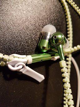 Headphones, Music, Audio, Listen