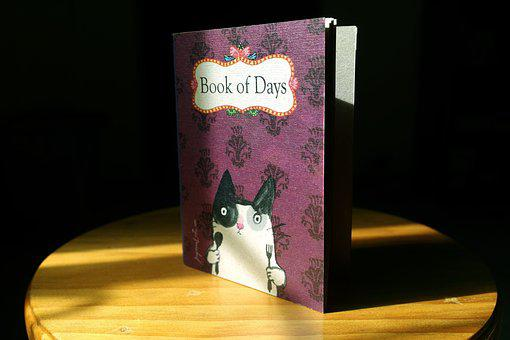 Instagram, Book, Days, Notebook, Planner, Cat, Cute