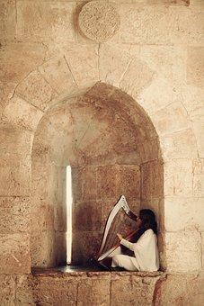 Music, Jerusalem, Traditional, Instrument, Jewish