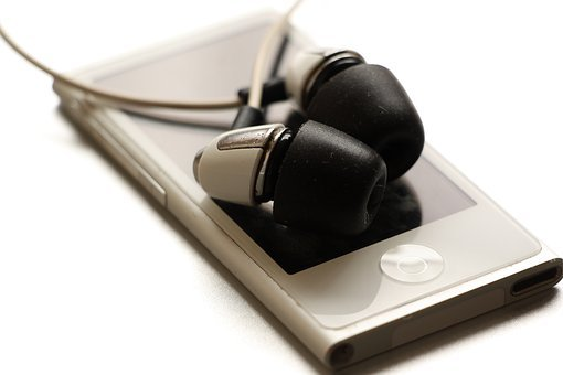 I-pod, Mp3 Player, In-ears, Headphones, Listen To Music