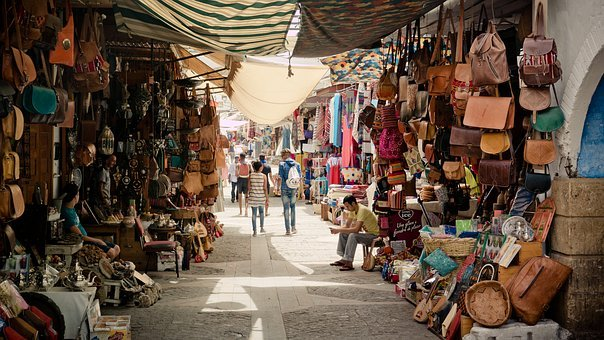 Souk, Discount, Bazaar, Alley, Marktgasse, Load Alley