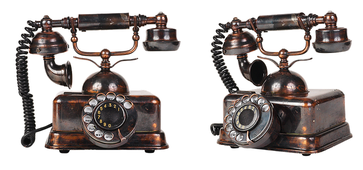 Vintage Telephone, Phone, Old, Call, Link, Disk