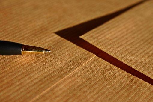 Letters, Envelope, Leave, Pen, Post, Message, Paper