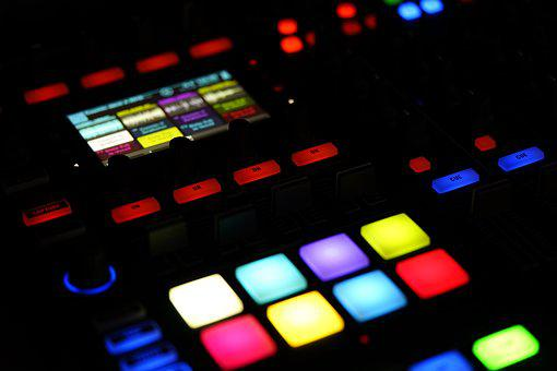 Digital, Music, Dj, Technology, Sequencer, Samples