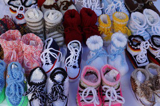 Baby, Shoes, Colorful, Knit, Child, Fertility, Clinic