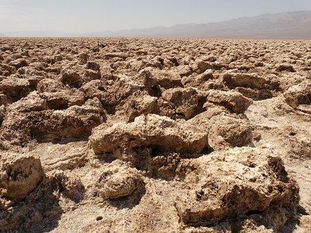Death Valley, Devil's Golf Course, National Park