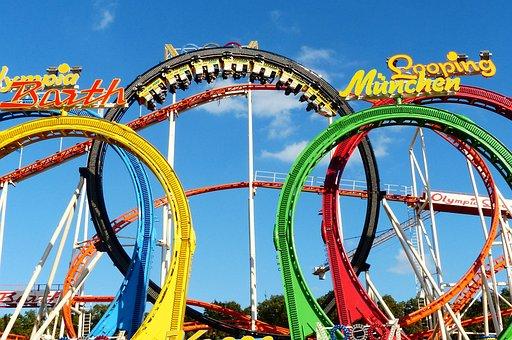 Looping, Fivefold, Olympia Looping, Roller Coaster
