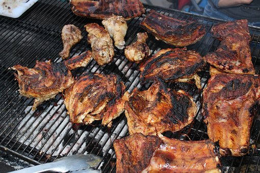 Bar-b-que, Chicken, Food, Barbecue, Meat, Dinner, Bbq