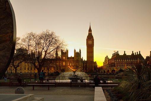 London, Big Ben, Clock, Tower, Ben, Big, Parliament