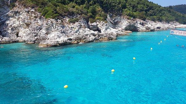 Tour, Blue Lagoon, Paxos, Antipaxos