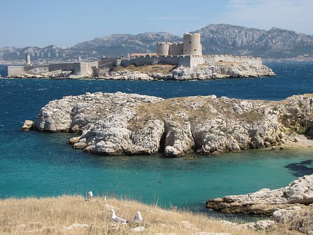 Marseille, France, Castle, Château D'if, Ile