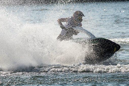 Jet Boat, Jet Ski, Runabout, Water Sports
