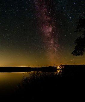 Milky Way, Star, Starry Sky, Night Sky, Night, Dark