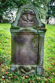 Tombstone, Monastery, Old, Mysticism, Historically