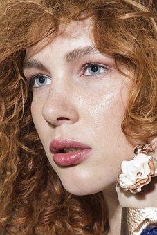 Model, Red, Hair, Hairdresser, Lip, Lips, Overview