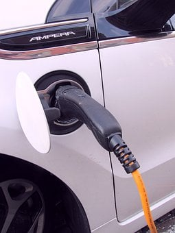 Plug-in, Electricity, E-car, Hybrid Car, Power Cable