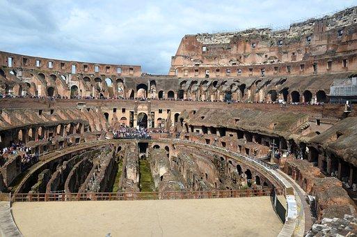 Roma Capitale, Roman Coliseum, Lazio