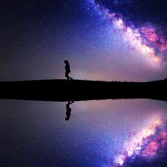 Galaxy, Milky Way, Space, Sky, Night, Cosmos, Star