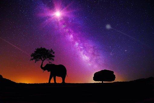 Galaxy, Milky Way, Space, Sky, Night, Universe, Star