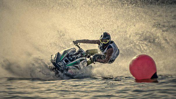 Jet Ski, Jetski Race, Motor Boat Race, Water Sports