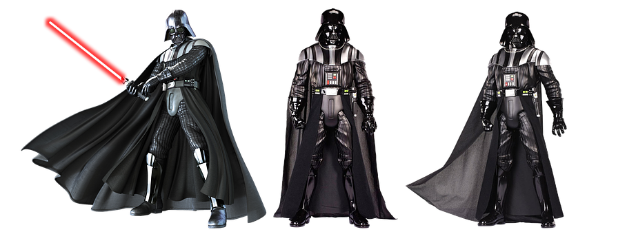 Figure, Toys, Darth Wader, Star Wars, Isolated, Action