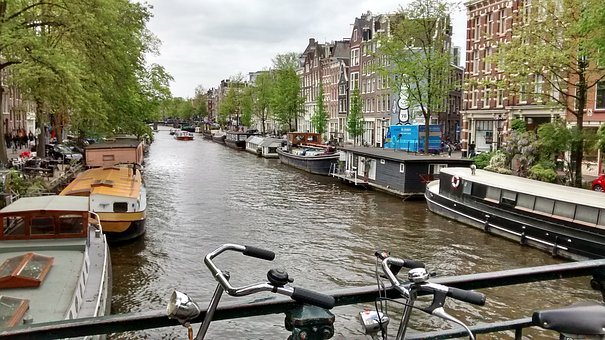 Amsterdam, Water Channel, Holiday