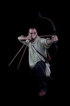 Human, Viking, Archer, Medieval, Historically, Target