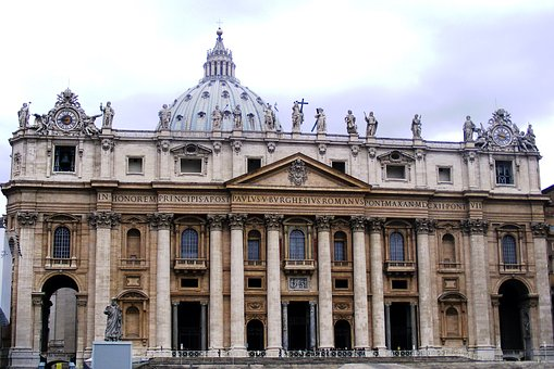 Rome, Vatican, Italy, City, Architecture, Church