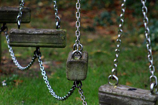 Swing, Chains, Climbing Frame