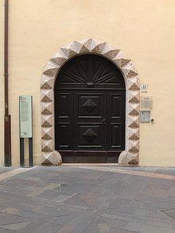 Door, Wooden Door, Input, Old Door, House Entrance, Old