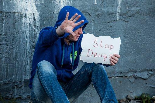 Stop, Drugs, Addict, Drug Addiction, Drug Dependence