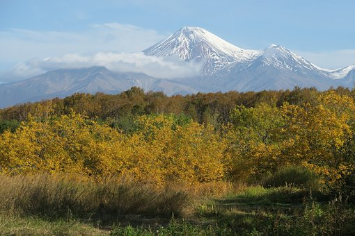 The Volcano Avachinsky, Kamchatka, Mountains, Nipple
