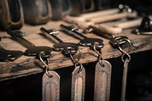 Keys, Shelf, Keychain, Lock, Open, Keymaker, Home
