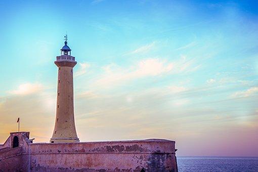 Lighthouse, Rabat, Morocco, Africa, Landmark, Maghreb