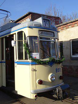 Tram, Chemnitz, Museum, Mulled Wine Travel
