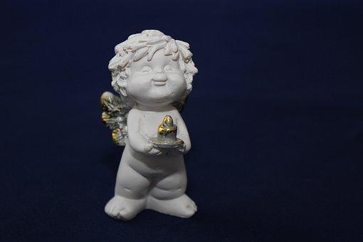 Angel, Angel Figure, Cute, Sweet, Harmony, Sculpture