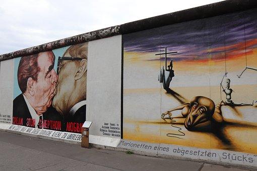 East, Side, Gallery, Berlin, Berlin Wall, Graffiti, Art