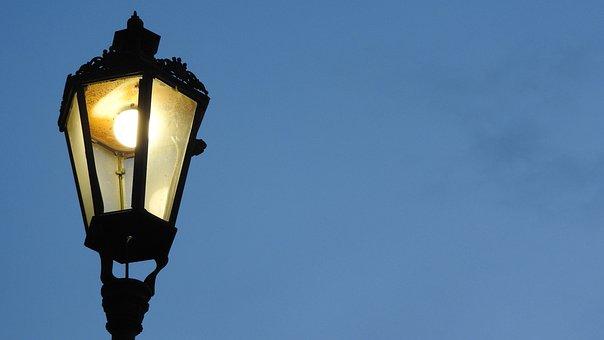 Lamp, Street Lighting, Night Lighting, Historical Lamp