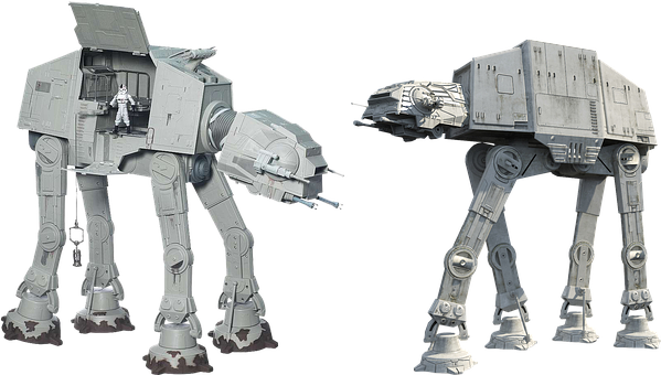 Figure, Toys, At-at, Star Wars, Isolated, Action, Film